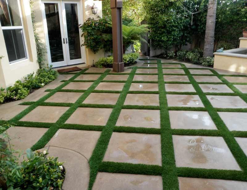 Paduan Lantai dan Rumput