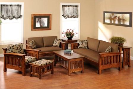 Furniture kayu sebagai aksesoris utama