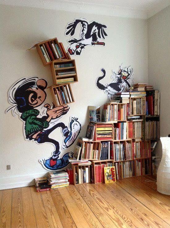 Ruang Baca yang Menarik