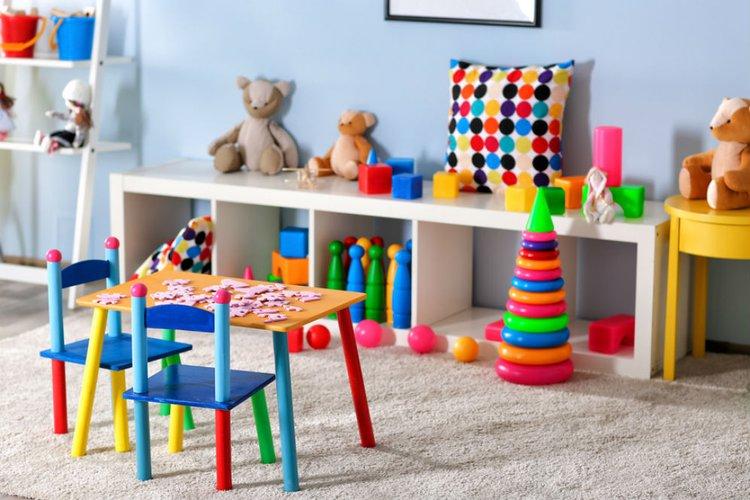 Tempat Bermain dan Menyimpan Mainan Anak