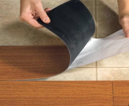 Memasang Lantai Jenis Vinyl